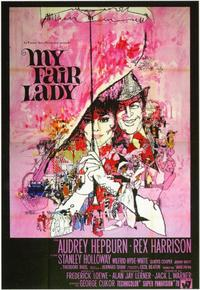 My Fair Lady - 11 x 17 Movie Poster - Italian Style D
