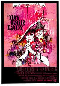 My Fair Lady - 43 x 62 Movie Poster - Bus Shelter Style A