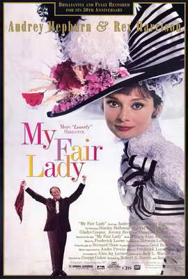 My Fair Lady - 27 x 40 Movie Poster - Style B
