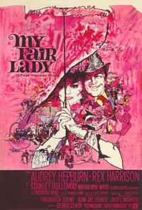 My Fair Lady - 11 x 17 Movie Poster - Belgian Style B