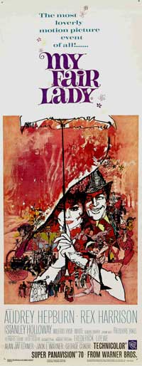 My Fair Lady - 14 x 36 Movie Poster - Insert Style A