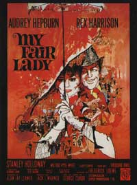 My Fair Lady - 11 x 17 Movie Poster - French Style A