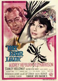 My Fair Lady - 11 x 17 Movie Poster - Italian Style E