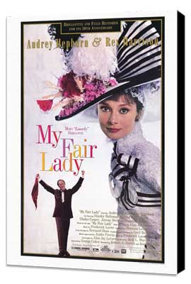 My Fair Lady - 11 x 17 Movie Poster - Style D - Museum Wrapped Canvas