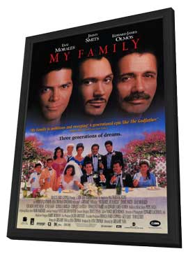 My Family - 11 x 17 Movie Poster - Style A - in Deluxe Wood Frame
