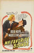 My Favorite Blonde - 27 x 40 Movie Poster - Style A