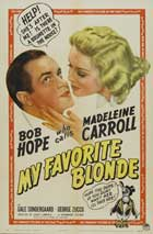 My Favorite Blonde - 11 x 17 Movie Poster - Style B