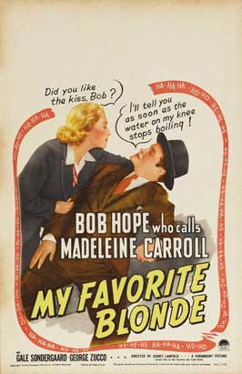 My Favorite Blonde - 11 x 17 Movie Poster - Style A