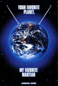 My Favorite Martian - 27 x 40 Movie Poster - Style A