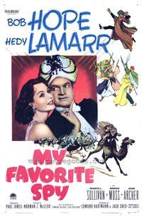 My Favorite Spy - 27 x 40 Movie Poster - Style B