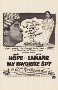 My Favorite Spy - 11 x 17 Movie Poster - Style C