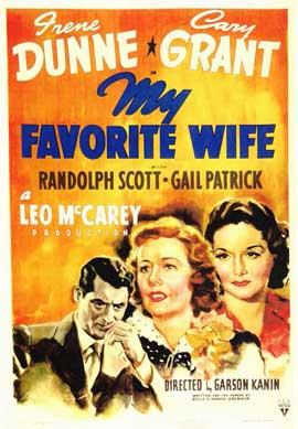 My Favorite Wife - 11 x 17 Movie Poster - Style A