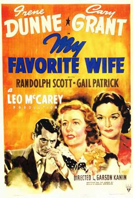 My Favorite Wife - 27 x 40 Movie Poster - Style A