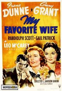 My Favorite Wife - 43 x 62 Movie Poster - Bus Shelter Style A