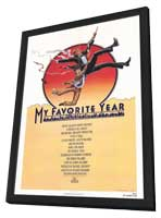 My Favorite Year - 11 x 17 Movie Poster - Style A - in Deluxe Wood Frame