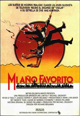 My Favorite Year - 11 x 17 Movie Poster - Spanish Style A