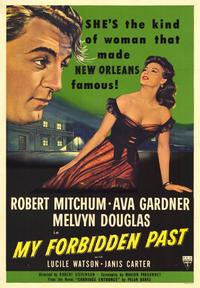 My Forbidden Past - 43 x 62 Movie Poster - Bus Shelter Style A