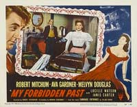 My Forbidden Past - 11 x 14 Movie Poster - Style B