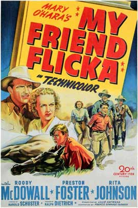 My Friend Flicka - 11 x 17 Movie Poster - Style A