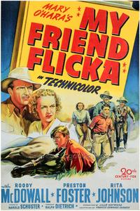 My Friend Flicka - 43 x 62 Movie Poster - Bus Shelter Style A