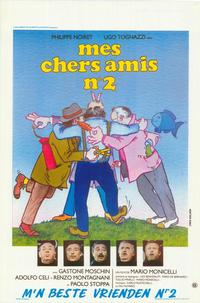 My Friends Act II - 11 x 17 Movie Poster - Belgian Style A