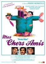 My Friends - 11 x 17 Movie Poster - French Style A