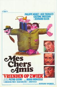 My Friends - 11 x 17 Movie Poster - Belgian Style A