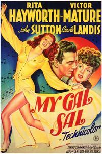 My Gal Sal - 11 x 17 Movie Poster - Style B