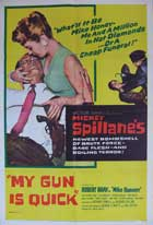 My Gun Is Quick - 27 x 40 Movie Poster - Style B