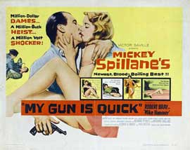 My Gun Is Quick - 11 x 14 Movie Poster - Style A