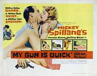 My Gun Is Quick - 22 x 28 Movie Poster - Half Sheet Style A