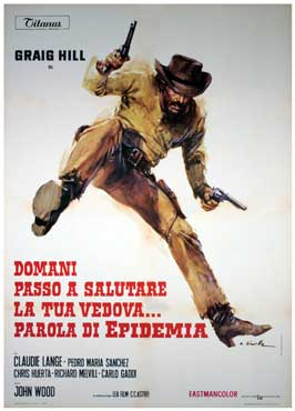 My Horse, My Gun, Your Widow - 43 x 62 Movie Poster - Italian Style A