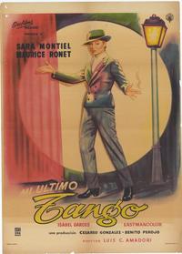 My Last Tango - 27 x 40 Movie Poster - Style B