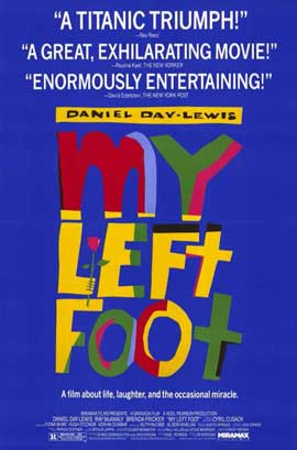 My Left Foot - 11 x 17 Movie Poster - Style A