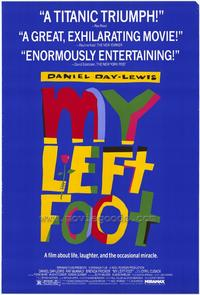 My Left Foot - 27 x 40 Movie Poster - Style A
