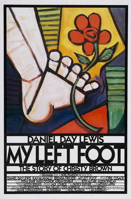 My Left Foot - 27 x 40 Movie Poster - Style B