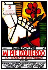 My Left Foot - 11 x 17 Movie Poster - Spanish Style A