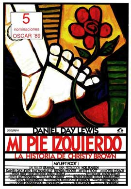 My Left Foot - 27 x 40 Movie Poster - Spanish Style A