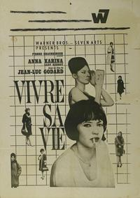 My Life to Live - 43 x 62 Movie Poster - French Style A