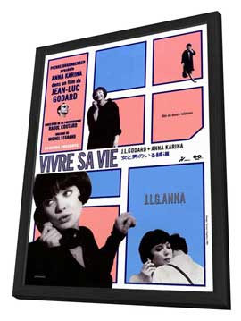 My Life to Live - 11 x 17 Movie Poster - Style A - in Deluxe Wood Frame