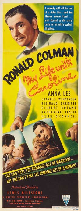 My Life with Caroline - 14 x 36 Movie Poster - Insert Style A
