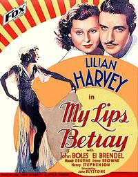 My Lips Betray - 11 x 17 Movie Poster - Style B