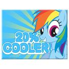 My Little Pony - Rainbow Dash 20% Cooler Magnet