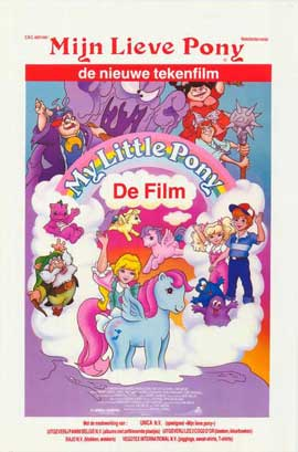 My Little Pony - 11 x 17 Movie Poster - Belgian Style A