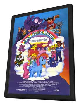 My Little Pony - 27 x 40 Movie Poster - Style A - in Deluxe Wood Frame