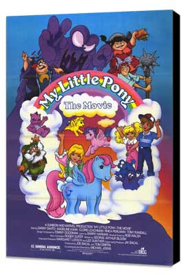 My Little Pony - 11 x 17 Movie Poster - Style A - Museum Wrapped Canvas