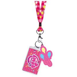 My Little Pony - Pinkie Pie Cutie Mark Lanyard Key Chain