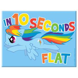 My Little Pony - Rainbow Dash In 10 Seconds Flat Magnet