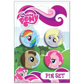 My Little Pony - Ponies Pin Set 4-Pack