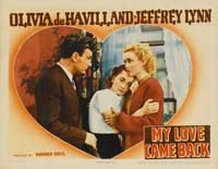 My Love Came Back - 11 x 14 Movie Poster - Style A